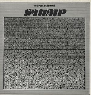 Stump - The Peel Sessions CD (album) cover