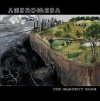 Andromeda - The Immunity Zone CD (album) cover