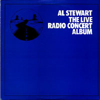 Al Stewart - The Live Radio Concert Album (the Blue Album) CD (album) cover