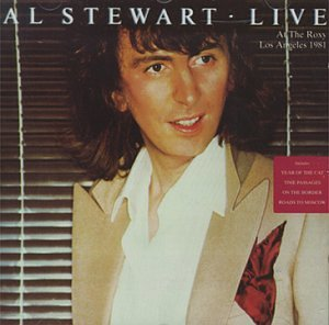 AL STEWART - Live At The Roxy 1981 CD album cover