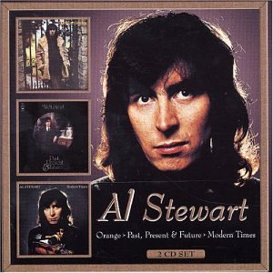 Al Stewart - Orange / Past, Present & Future / Modern Times CD (album) cover