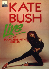 Kate Bush - Live At The Hammersmith Odeon DVD (album) cover