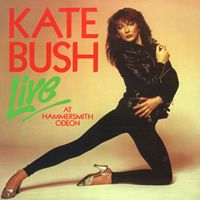 KATE BUSH - Live At The Hammersmith Odeon CD album cover