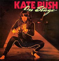 Kate Bush - On Stage CD (album) cover