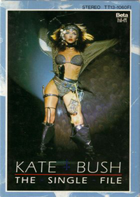 Kate Bush - The Single File (VHS) DVD (album) cover