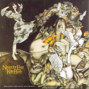 KATE BUSH - Never For Ever CD album cover