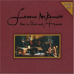 Loreena Mckennitt - Live Paris And Toronto CD (album) cover