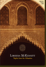 LOREENA MCKENNITT - Nights From The Alhambra CD (album) cover
