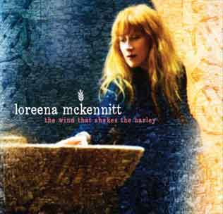 Loreena Mckennitt - The Wind That Shakes The Barley CD (album) cover