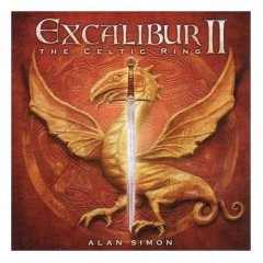Alan Simon - Excalibur II - La Légende Des Celtes CD (album) cover