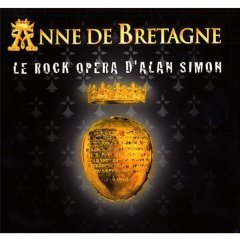 Alan Simon - Anne De Bretagne CD (album) cover