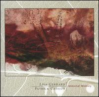 Lisa Gerrard - Immortal Memory (with Patrick Cassidy) CD (album) cover