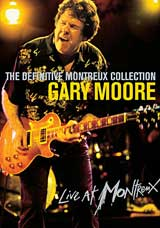 GARY MOORE - The Definitive Montreux Collection CD (album) cover