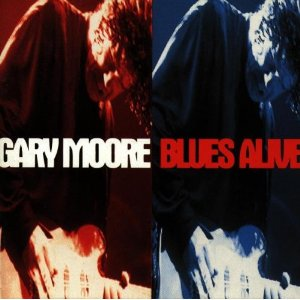 GARY MOORE - Blues Alive CD album cover