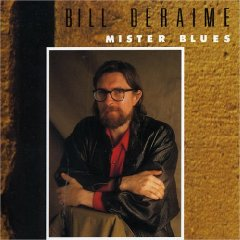 BILL DERAIME - Mister Blues CD album cover