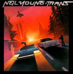 Neil Young - Trans CD (album) cover