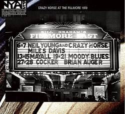 Neil Young - Live At The Fillmore East CD (album) cover