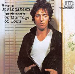 Bruce Springsteen - Darkness On The Edge Of Town CD (album) cover