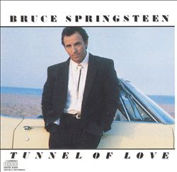 Bruce Springsteen - Tunnel Of Love CD (album) cover