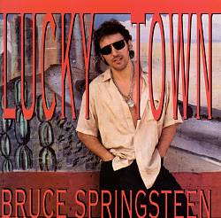 Bruce Springsteen - Lucky Town CD (album) cover