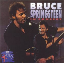 Bruce Springsteen - In Concert/mtv Plugged CD (album) cover