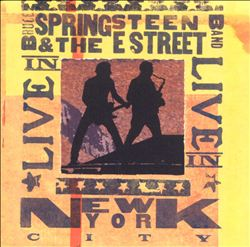 Bruce Springsteen - Live In Nyc CD (album) cover