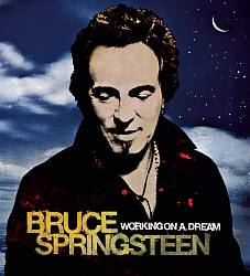 Bruce Springsteen - Working On A Dream CD (album) cover
