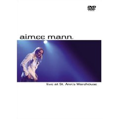 AIMEE MANN - Live At St Ann's Warehouse CD (album) cover