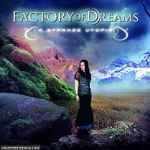 FACTORY OF DREAMS - A Strange Utopia CD album cover
