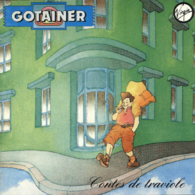 RICHARD GOTAINER - Contes De Traviole CD album cover