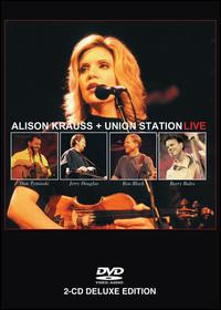 ALISON KRAUSS - Live (with Union Station) CD (album) cover