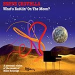 Beppe Crovella - What's Rattlin' On The Moon  CD (album) cover