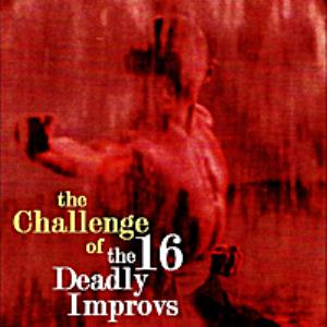 Beppe Crovella - The Challenge Of The 16 Deadly Improvs CD (album) cover