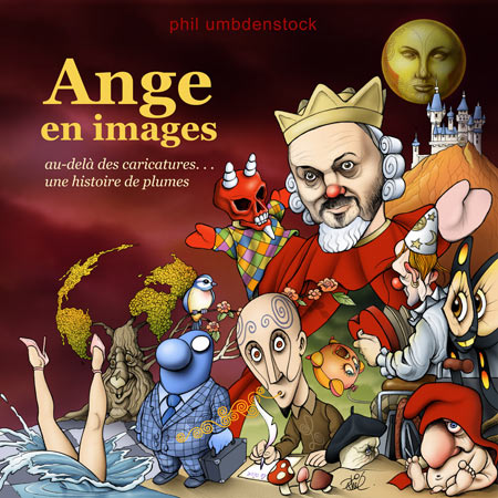 Phil Umbdenstock - Ange En Images CD (album) cover