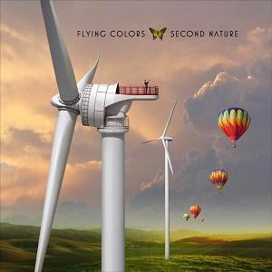 Flying Colors - Second Nature CD (album) cover