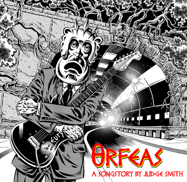 Judge Smith - Orfeas CD (album) cover