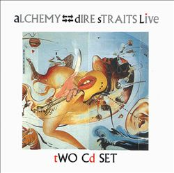 DIRE STRAITS - Alchemy CD album cover