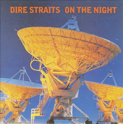DIRE STRAITS - On The Night CD album cover