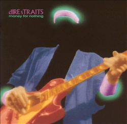 Dire Straits - Money For Nothing CD (album) cover