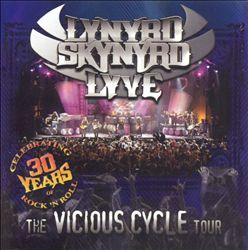 Lynyrd Skynyrd - Lyve: The Vicious Cycle Tour CD (album) cover