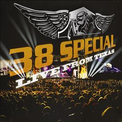 .38 Special - Live From Texas CD (album) cover