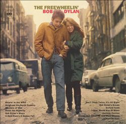 Bob Dylan - The Freewheelin' Bob Dylan CD (album) cover