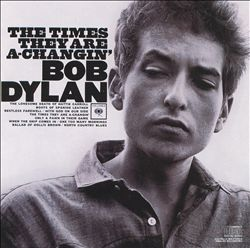 Bob Dylan - The Times They Are A-changin' CD (album) cover