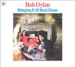 Bob Dylan - Bringing It All Back Home CD (album) cover