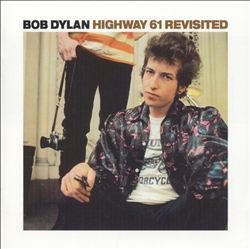 BOB DYLAN - Highway 61 Revisited CD album cover