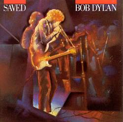 Bob Dylan - Saved CD (album) cover