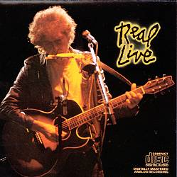 Bob Dylan - Real Live CD (album) cover