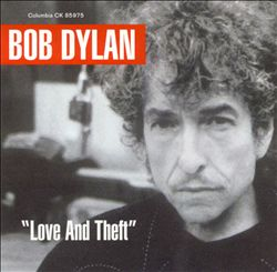 Bob Dylan - Love And Theft CD (album) cover
