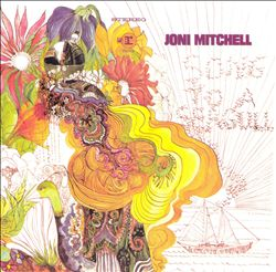 Joni Mitchell - Song To A Seagull CD (album) cover