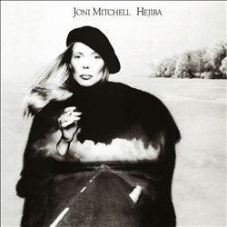 Joni Mitchell - Hejira CD (album) cover